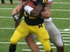 M Football 2011 Michigan Wolverines Too Much For ohios Buckeyes in Big House: M 40 OSU 34 thumbs 2011 umohio 012 Ohio State Ohio Denard Robinson Brady Hoke 2011