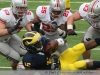 M Football 2011 Michigan Wolverines Too Much For ohios Buckeyes in Big House: M 40 OSU 34 thumbs 2011 umohio 013 Ohio State Ohio Denard Robinson Brady Hoke 2011