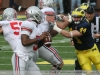M Football 2011 Michigan Wolverines Too Much For ohios Buckeyes in Big House: M 40 OSU 34 thumbs 2011 umohio 014 Ohio State Ohio Denard Robinson Brady Hoke 2011
