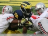 M Football 2011 Michigan Wolverines Too Much For ohios Buckeyes in Big House: M 40 OSU 34 thumbs 2011 umohio 017 Ohio State Ohio Denard Robinson Brady Hoke 2011