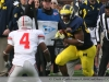 M Football 2011 Michigan Wolverines Too Much For ohios Buckeyes in Big House: M 40 OSU 34 thumbs 2011 umohio 018 Ohio State Ohio Denard Robinson Brady Hoke 2011