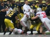 Michigan Wolverines 40 Ohio 34 Game Photos THE GAME thumbs 2011 umohio 025 Ohio State Ohio Mike Martin Denard Robinson David Molk Brady Hoke 2011