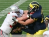 M Football 2011 Michigan Wolverines Too Much For ohios Buckeyes in Big House: M 40 OSU 34 thumbs 2011 umohio 026 Ohio State Ohio Denard Robinson Brady Hoke 2011