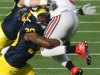M Football 2011 Michigan Wolverines Too Much For ohios Buckeyes in Big House: M 40 OSU 34 thumbs 2011 umohio 032 Ohio State Ohio Denard Robinson Brady Hoke 2011