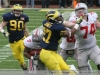M Football 2011 Michigan Wolverines Too Much For ohios Buckeyes in Big House: M 40 OSU 34 thumbs 2011 umohio 047 Ohio State Ohio Denard Robinson Brady Hoke 2011