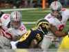 M Football 2011 Michigan Wolverines Too Much For ohios Buckeyes in Big House: M 40 OSU 34 thumbs 2011 umohio 05 Ohio State Ohio Denard Robinson Brady Hoke 2011