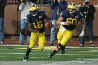 M Football 2011 Michigan Wolverines Too Much For ohios Buckeyes in Big House: M 40 OSU 34 2424  320x240 2011 umohio 033 Ohio State Ohio Denard Robinson Brady Hoke 2011