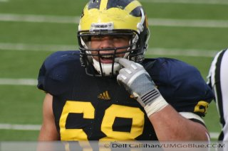M Football 2011 Michigan Wolverines Too Much For ohios Buckeyes in Big House: M 40 OSU 34 2432  320x240 2011 umohio 040 Ohio State Ohio Denard Robinson Brady Hoke 2011