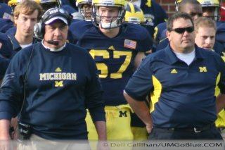 M Football 2011 Michigan Wolverines Too Much For ohios Buckeyes in Big House: M 40 OSU 34 2434  320x240 2011 umohio 042 Ohio State Ohio Denard Robinson Brady Hoke 2011