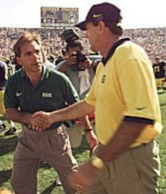 12/1/99  Saban Shows Disrespect to MSU Lloyd Saban Nick Saban MSU