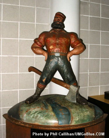 Bring Paul Home! 05UMPaulBunyan Paul Bunyan Trophy MSU