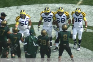 Surprise Road Football Uniforms for the Wolverines vs the Spartans 2011 UMMSU 0 300x200 Uniforms MSU