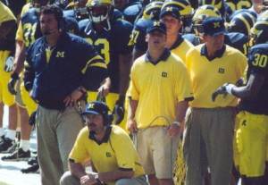 Meet the New Boss; Just Like the Old Boss? Brady Hoke, Lloyd Carr and Return of Fort Schembechler 98 hoke 300x207 Lloyd Carr Fort Schembechler Brady Hoke