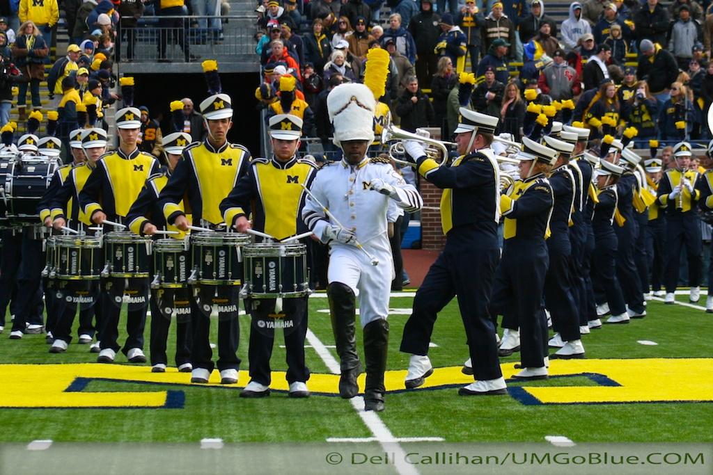 ...and the band played on  Michigan Wolverine Marching Band *will* play in the Cowboys Classic  2010 UMIllinois 21 Nick Saban Michigan Marching Band Denard Robinson David Brandon Cowboys Classic Brady Hoke Alabama Crimson Tide 2012