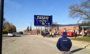 Conspicuous Consumption  The Michigan Wolverines; the 1 Percent of College Athletics marquee1 300x179 David Brandon