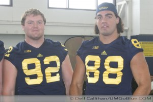 M FOOTBALL 2012: MEDIA/KIDS DAY  WOLVERINES HAVE STEPPED OUT OF THE SHADOWS INTO THE LIMELIGHT 2012 MediaDay 045 300x200
