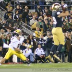 M Football 2012-NO LATE GAME HEROICS TO SECURE WIN AS WOLVERINES TAKE LOSS-MICHIGAN 6, NOTRE DAME 13.