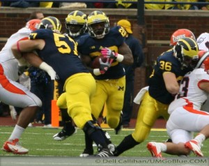 M FOOTBALL 2012: EVERY BIG TEN GAME A CHAMPIONSHIP GAME MICHIGAN 45, ILLINOIS 0. 2012 UMIllinois 010 300x239 Illinois
