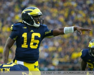M FOOTBALL 2012 WAS LAST SATURDAYS SLUGFEST AT MICHIGAN STADIUM MSUS BOWL GAME? WOLVERINES 12, MSU 10 2012 UMmsu 025 300x239