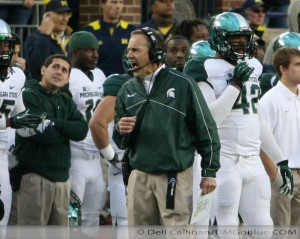 M FOOTBALL 2012 WAS LAST SATURDAYS SLUGFEST AT MICHIGAN STADIUM MSUS BOWL GAME? WOLVERINES 12, MSU 10 2012 UMmsu 033 300x239