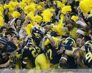 M FOOTBALL 2012 WAS LAST SATURDAYS SLUGFEST AT MICHIGAN STADIUM MSUS BOWL GAME? WOLVERINES 12, MSU 10 2012 UMmsu 036 300x239
