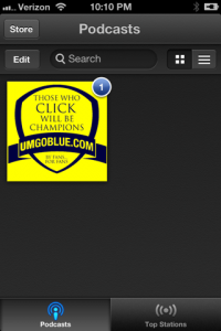 How to Subscribe to the UMGoBlue.COM Podcast on IOS 6 (iPhone, iPad) iTunes 06 200x300 iTunes