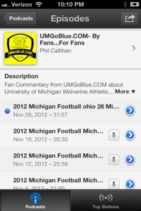 How to Subscribe to the UMGoBlue.COM Podcast on IOS 6 (iPhone, iPad) iTunes 07 200x300 iTunes