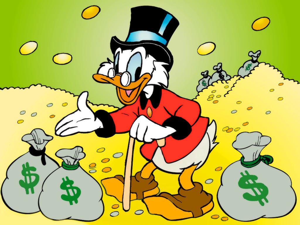 Bon Lundi Scrooge-mcduck