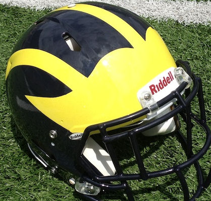 MICHIGAN FOOTBALL-2014: THE WOLVERINES SLAM MIAMI'S REDHAWKS 34 TO 10 DESPITE THREE SECOND QUARTER TURNOVERS.