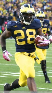 M FOOTBALL 2013: GALLON WATERS DOWN HOOSIER HOPES AS HE SETS RECORDS, AND THE WOLVERINES PREVAIL IN A 63 TO 47 SHOOTOUT 2013 UMIndiana 016 168x300 Jeremy Gallon Indiana Fitzgerald Toussaint Devin Gardner 2013