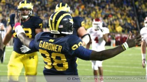 M FOOTBALL 2013: GALLON WATERS DOWN HOOSIER HOPES AS HE SETS RECORDS, AND THE WOLVERINES PREVAIL IN A 63 TO 47 SHOOTOUT 2013 UMIndiana 024 300x168 Jeremy Gallon Indiana Fitzgerald Toussaint Devin Gardner 2013