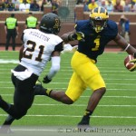 M FOOTBALL 2014-A LONG OFF SEASON AFTER  A SO-SO CAMPAIGN LEFT SOME FANS WITH EXCESSIVE NEGATIVITY REGARDING TEAM 135′S COMPOSITION, COACHING AND PROSPECTS. SATURDAY SOME OF THOSE CONCERNS WERE RELIEVED AS THE WOLVERINES BEAT DOWN APPALACHIAN STATE, 52 TO 14.