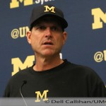 Podcast- 2015 Michigan Football Jim Harbaugh Post Game Press Conference Michigan 35 Oregon State 7