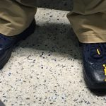 Michigan Football Press Conference– Coach Jim Harbaugh — These shoes were made for walking