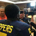 Michigan Football Media Day Photos