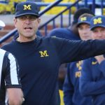 Jim Harbaugh Takes A Break from Galactic Tour to Visit Media in Chicago