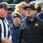 MICHIGAN FOOTBALL 2017:  BADGERS BOUNCE WOLVERINES 10 TO 24