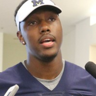 Michigan Football Media Day- Taco Charlton