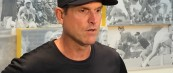 Jim Harbaugh– On whether he plans on staying at Michigan long term