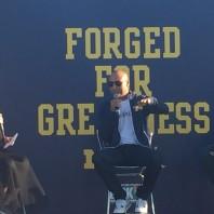 Derek Jeter talks Michigan Football