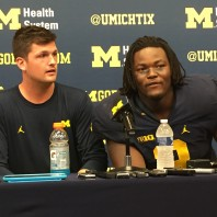 Michigan Football Players Speight, Wormley, Gary UCF Post Game Press Conference Podcast