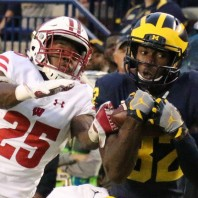 Michigan Football Game Photos– Michigan 14 Wisconsin 7