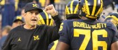 Michigan Football– Michigan 14 Wisconsin 7 Jim Harbaugh Post Game Press Conference