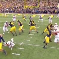 Defense Shuts Down Badgers — Michigan 14 Wisconsin 7