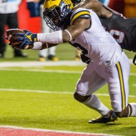 M FOOTBALL 2016: WOLVERINES ALL BUSINESS IN RECORD 78-0 WIN AT RUTGERS