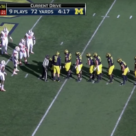 The Tape, The Tape, The Tape – Michigan 41 Illinois 8– A Cornucopia of Manball