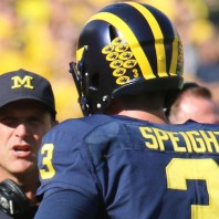 Michigan Football– Fall Camp Week 2 QB Wilton Speight is on Target