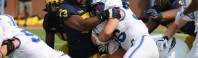 MICHIGAN FOOTBALL 2017: OFFENSE STRUGGLES, BUT M DOWNS AIR FORCE 29 TO 13