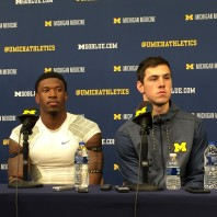 Michigan Football Postgame Podcast– Brandon Peters and Karan Higdon Michigan 35 Rutgers 14