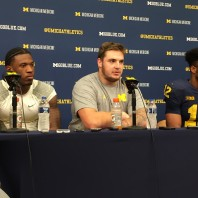 Michigan Football Postgame Podcast– Karan Higdon, Chris Evans, Mason Cole Michigan 33 Minnesota 10